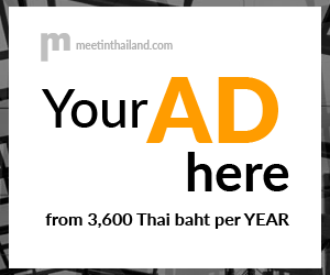 Your ad here from 3,600 Thai baht per YEAR